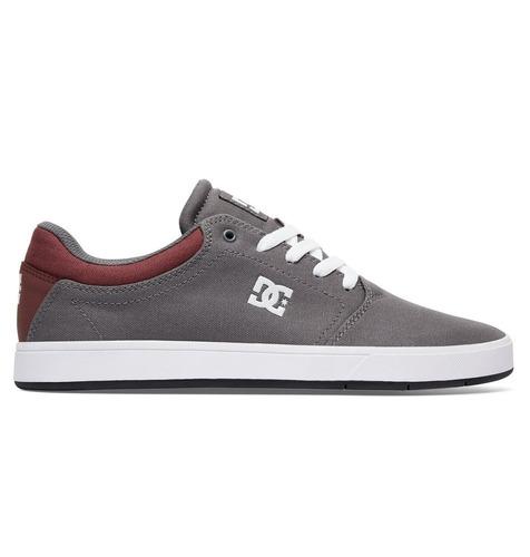 tenis hombre crisis tx adys100130 gra dc shoes gris