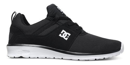 tenis hombre heathrow adys700071 3bk dc shoes negro