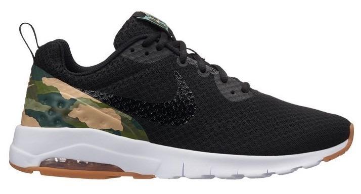 473d9e689c72e Tenis Hombre Nike Air Max Motion Lw Premium Negro Camuflaje ...