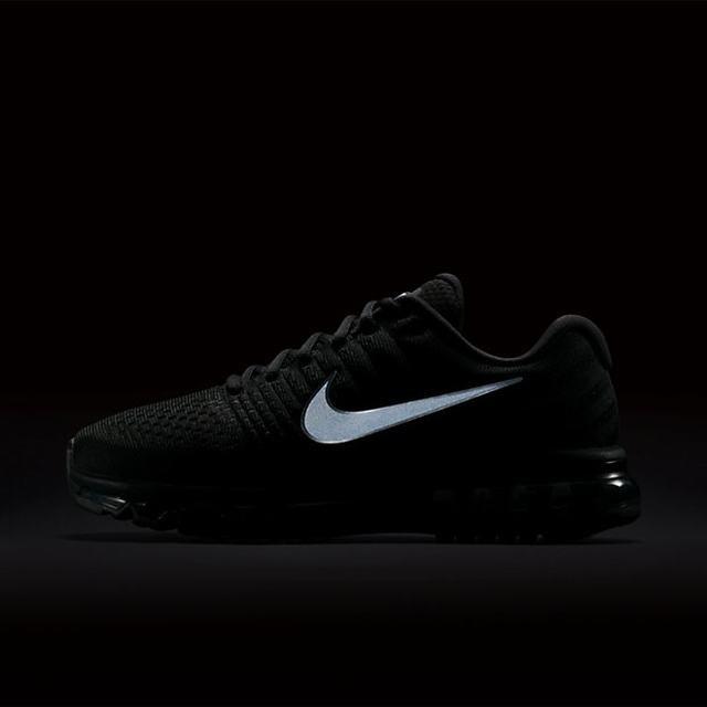 2438b7a7fc Tenis Hombre Nike Air Max Running Gym Triple Black -   2