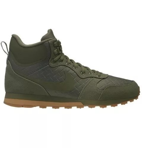 03146c35775 Tenis Hombre Nike Md Runner Verde Originales Casuales Nuevos ...