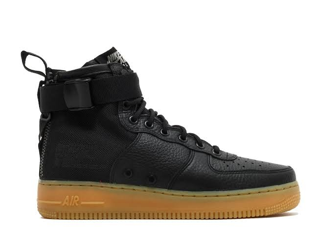 the best attitude a5928 572bb ... good tenis hombre nike sf air force 1 mid negros amarillo 62174 54e17
