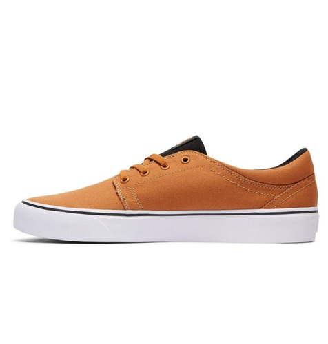 tenis hombre trase tx adys300126 wea dc shoes naranja