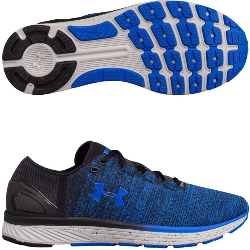c7b9e15626 Tenis Hombre Under Armour Bandit 3 Train Gym Negros Con Azul ...