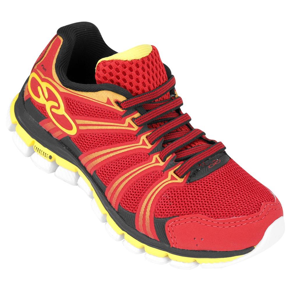 b83f46585ef tenis inf running olympikus vermelho fun 237. Carregando zoom.