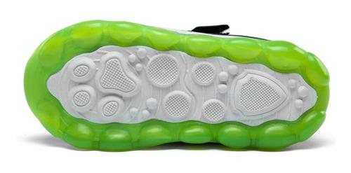 tenis infantil com luzes de led pisca luzinha ao andar