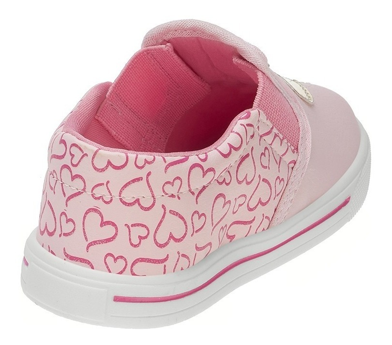 38b57bf4a Tenis Infantil Feminino Bebe Menina Flamingo Unicórnio Poá - R$ 36 ...