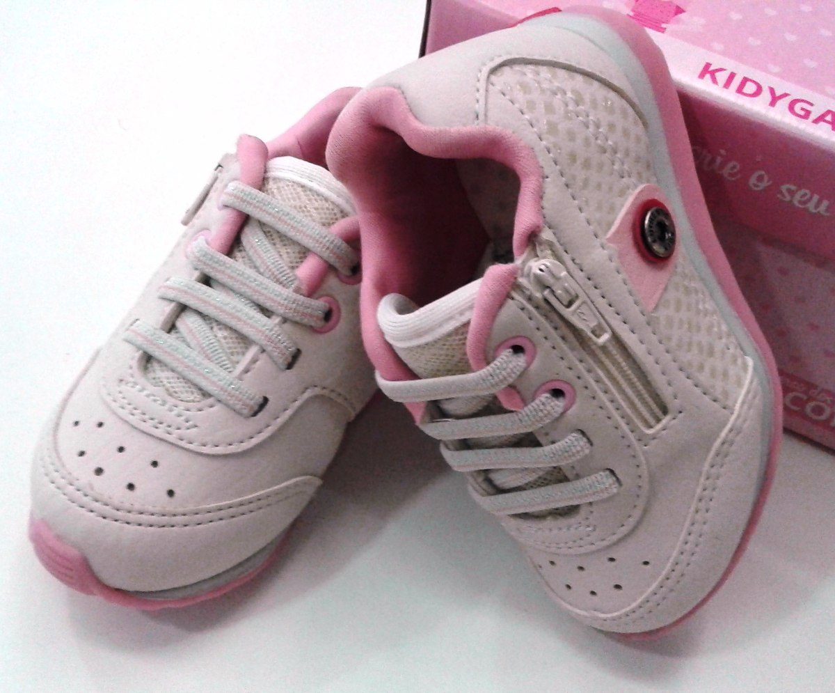 c9523f09fc Tenis Infantil Feminino Free Kidy10% Off - R$ 89,99 em Mercado Livre