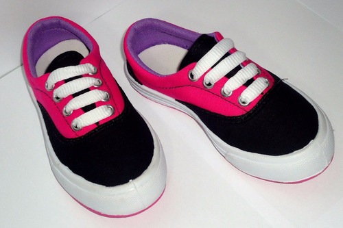 8ab573f215a Tenis Infantil Feminino Menina Pink Preto Oferta - 295 - R  29