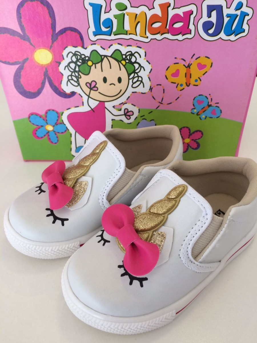 59fcd75f6 tenis infantil meninas unicornio top calçado confortavel. Carregando zoom.