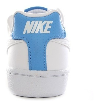 Tenis Blanco Azul Nike Court Royale