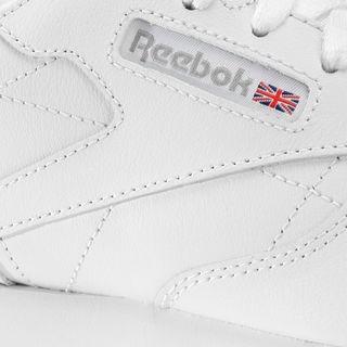tenis infantil reebok classic leather piel blanco