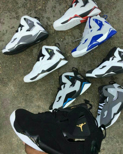 tenis jordan 7 true flight - los 7 remodelados.