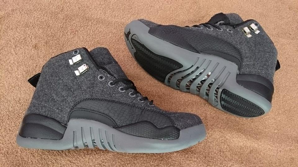 18f27284a4096 tenis jordan retro 12 jumpman gris negro 6.5 cm nuevos! Cargando zoom.