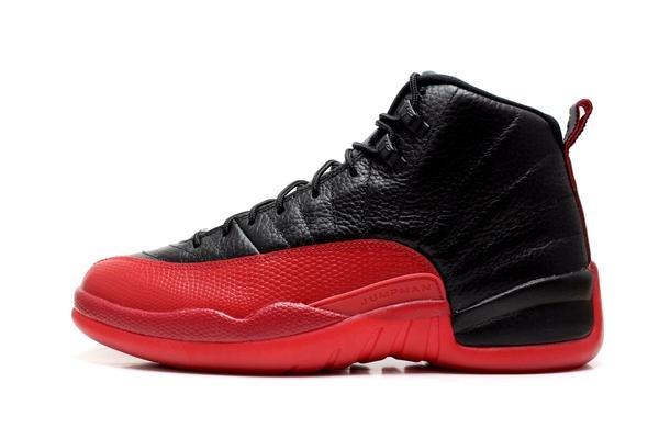 b31086faef2 Tenis Jordan Retro 12 Jumpman Rojo Negro 6.5 Cm Nuevos! -   1