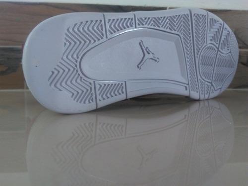 tenis jordan retro 4 white cement + envio gratis