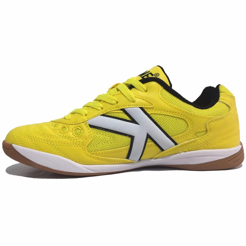 9d64d0432e8 tenis kelme copa futsal 626 profissional amarelo. Carregando zoom.