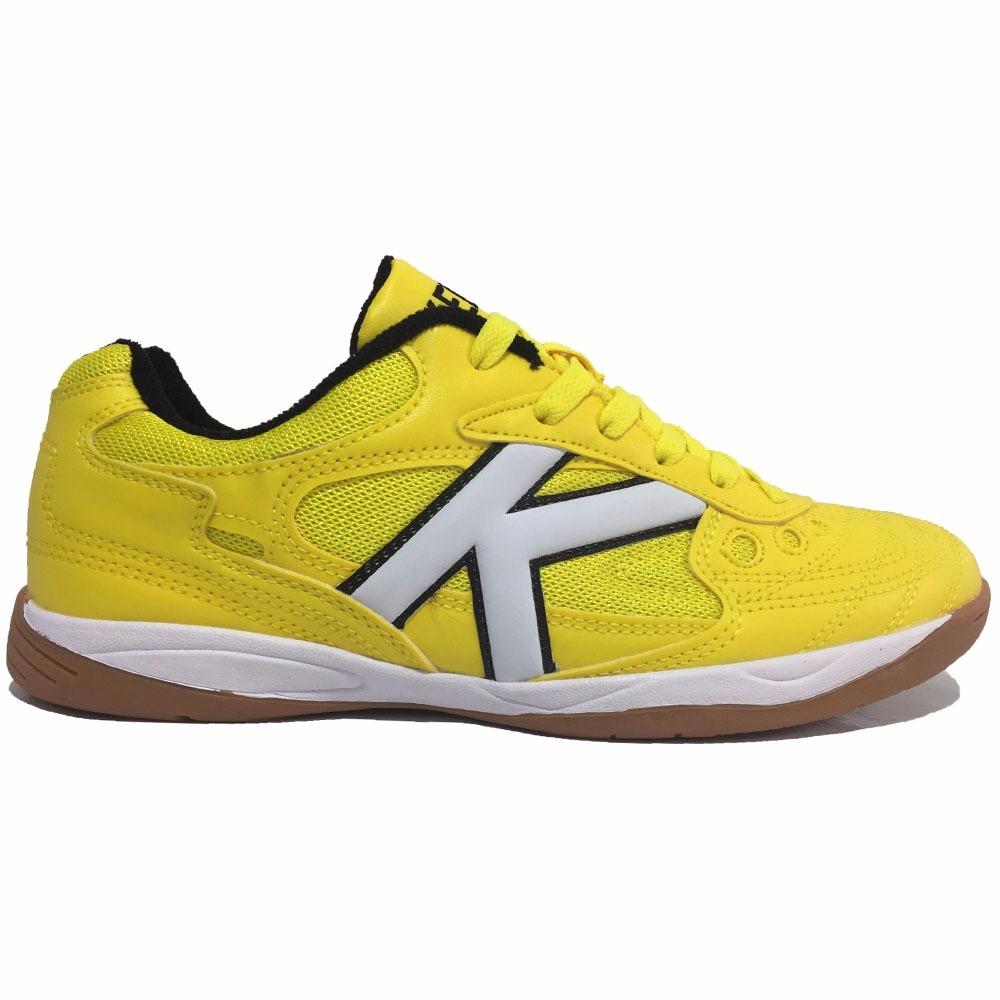 2f1e91cdbe tenis kelme copa futsal 626 profissional amarelo. Carregando zoom.