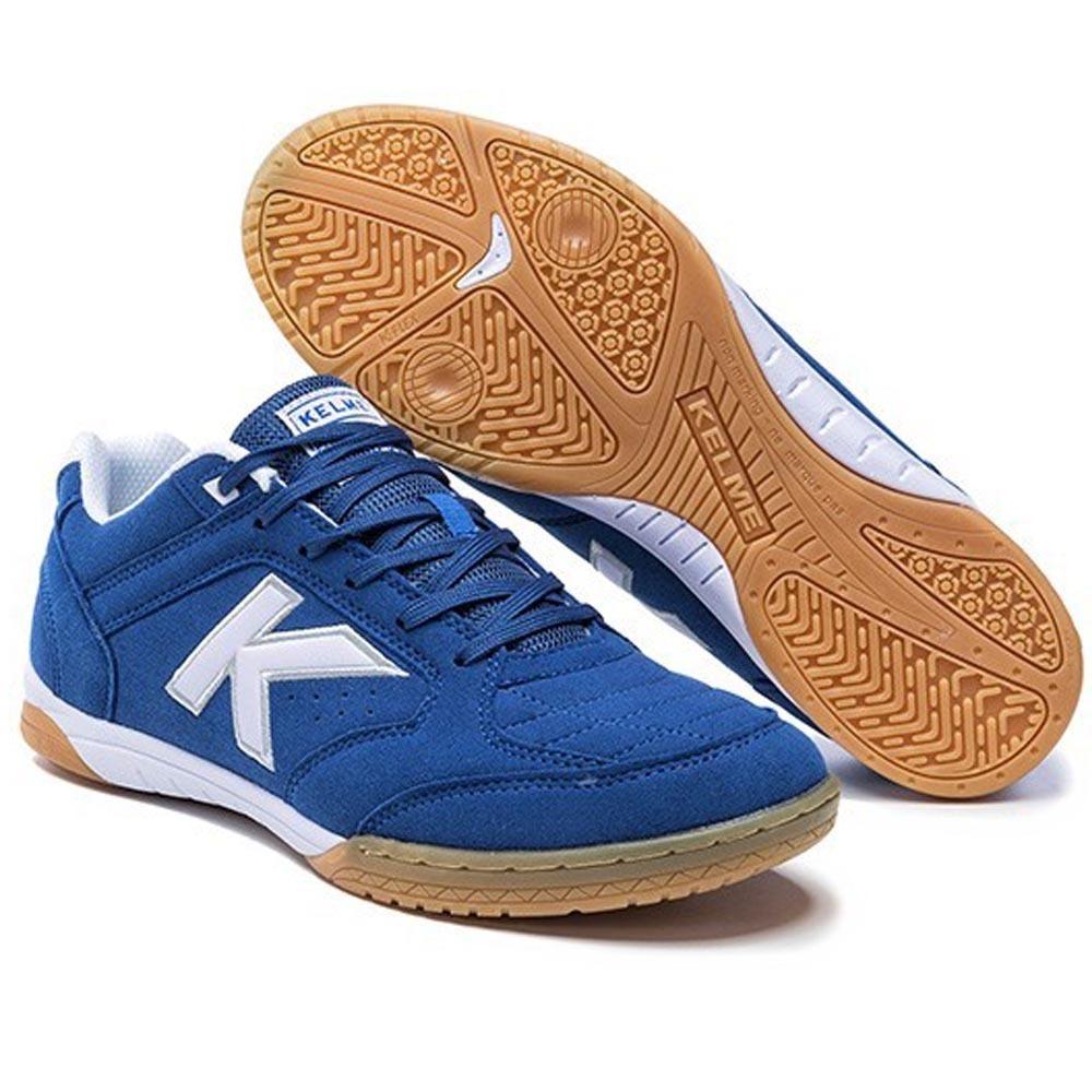 536833af0 tenis kelme futsal precision lnfs liga espanhola azul. Carregando zoom.