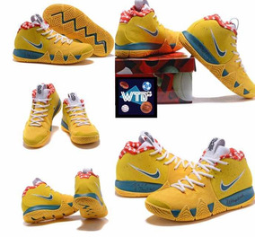 newest collection bb264 2b8df Tenis Kyrie Irving 4 Yellow Lobster