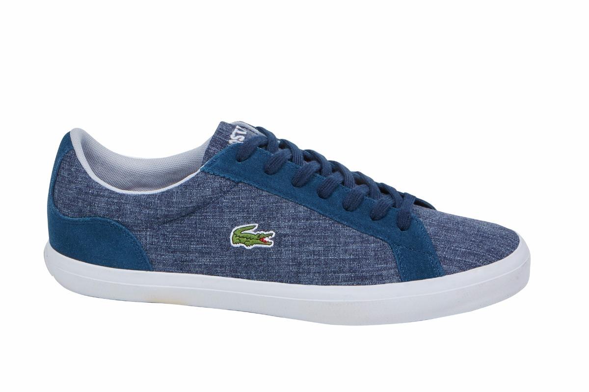 Tenis Para Azul Casual Hombre Marino Lacoste IYbDe9WHE2