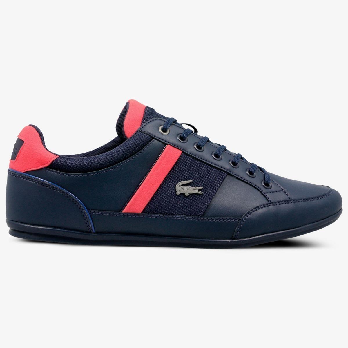 f4f6188ba6e tenis lacoste chaymon 318 1 azul-rojo caballero. Cargando zoom.