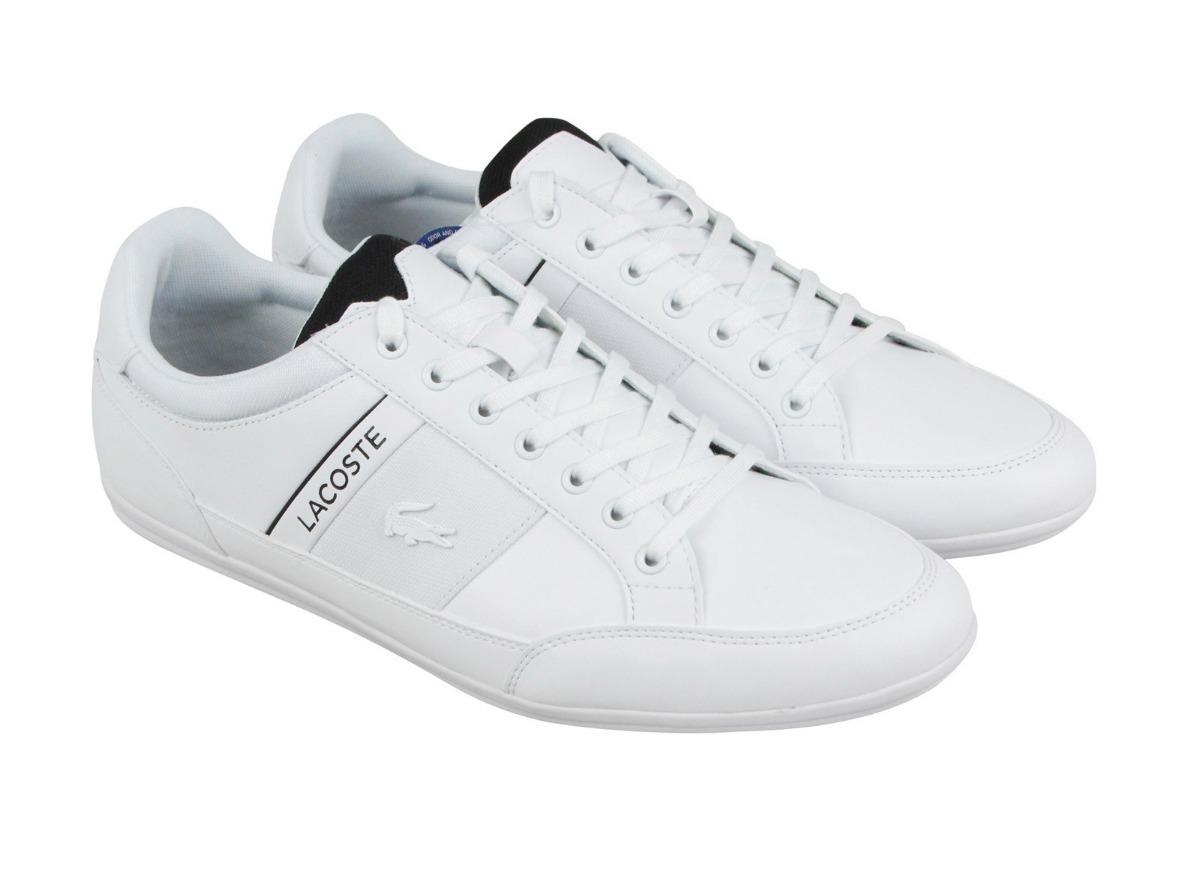 64034f6db4d tenis lacoste chaymon 318 7-36cam0012147 originales white. Cargando zoom.