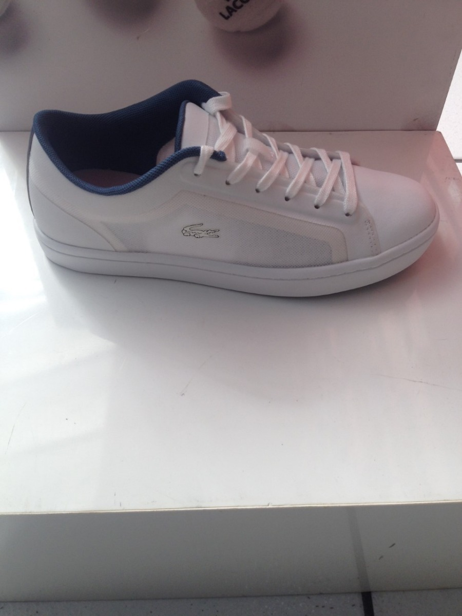 tenis lacoste feminino branco couro nylon original garantia. Carregando  zoom. 4546bdc7d3