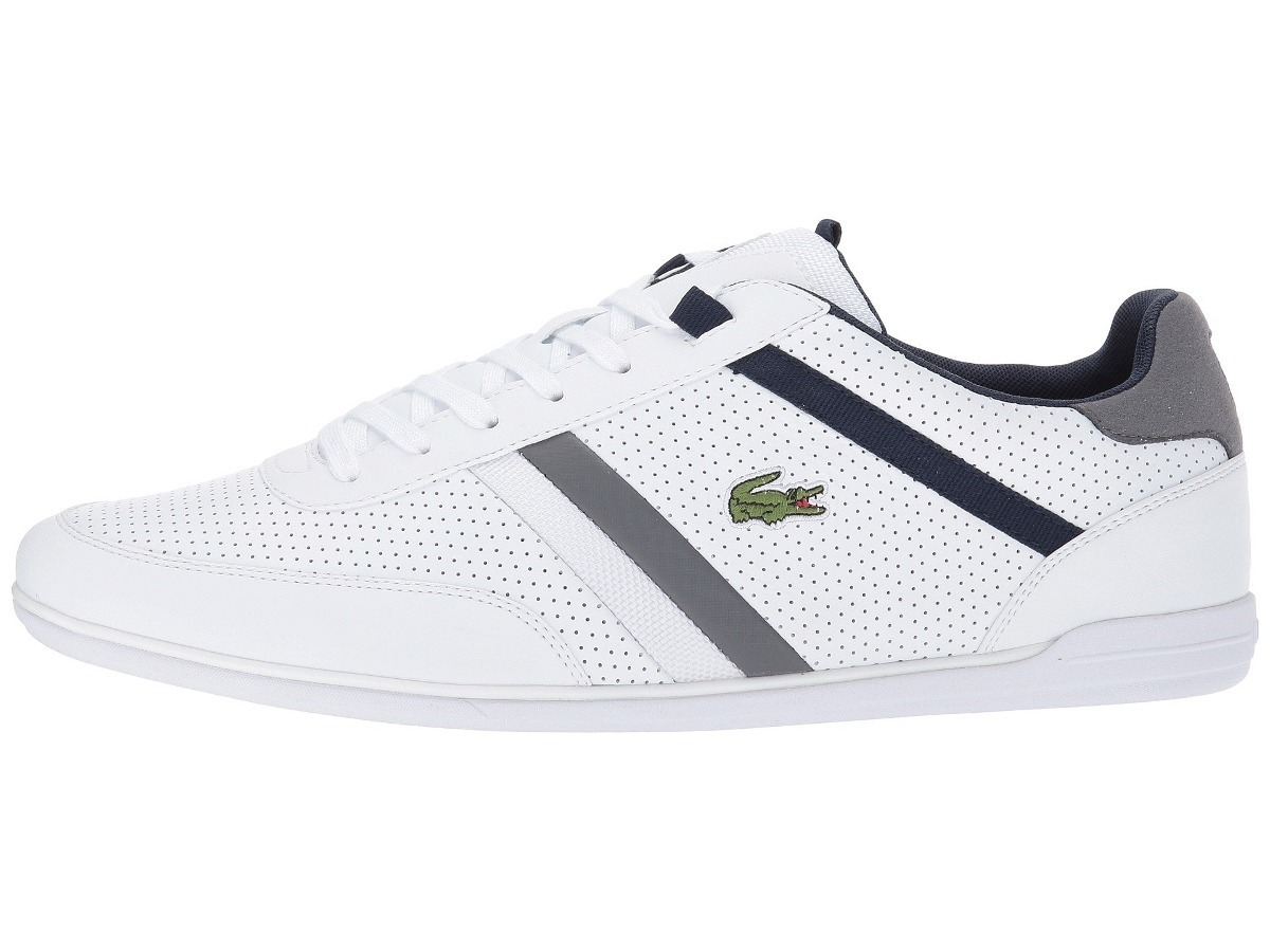 2f3370a57b8e8 Tenis Lacoste Giron 317 U Cam Casuales Blanco Linea Gris Dña ...