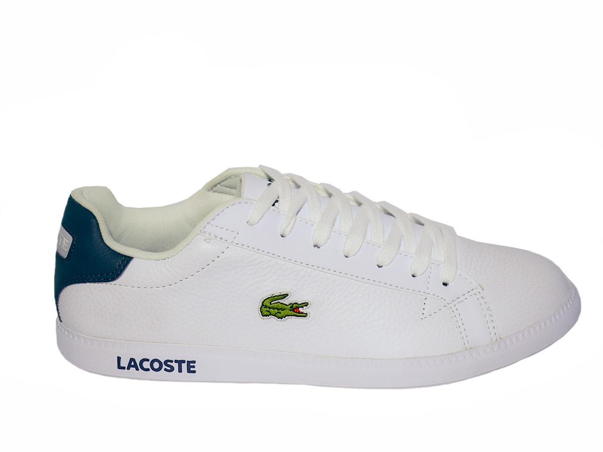 Tenis Lacoste Graduate Lcr3 118 Blanco Para Hombre 25344 -   320.760 ... 533de6ea1b