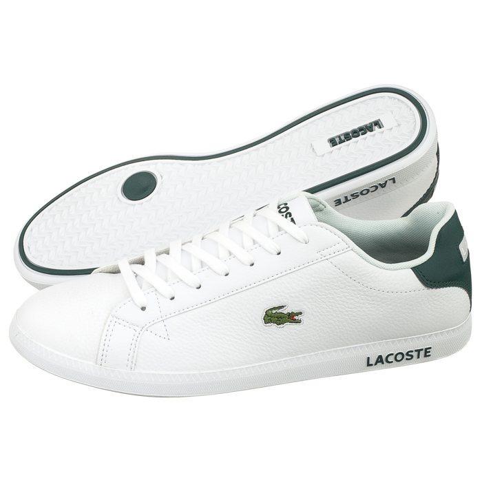 Tenis Lacoste Graduate Lcr3 Blanco verde -   2,100.00 en Mercado Libre 13ca02c2bf