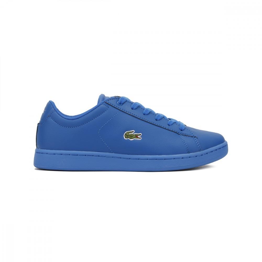 Tenis Lacoste Junior Blue Carnaby Evo 317 5 -   2,000.00 en Mercado ... 5cc3c19b6a