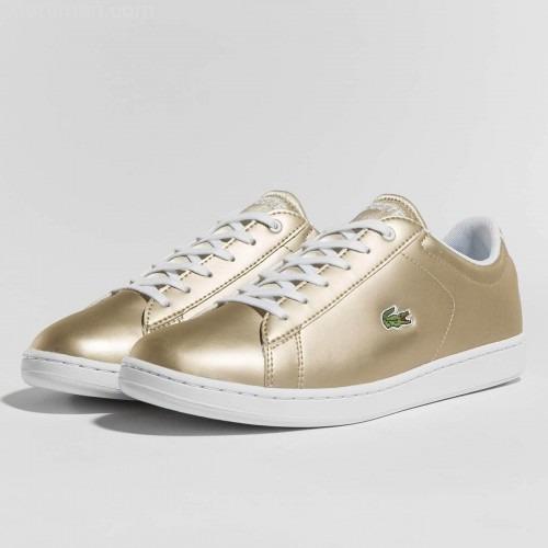Tenis Lacoste Junior-dama Oro   White Carnaby Evo 218 -   2,000.00 ... 2422400f10