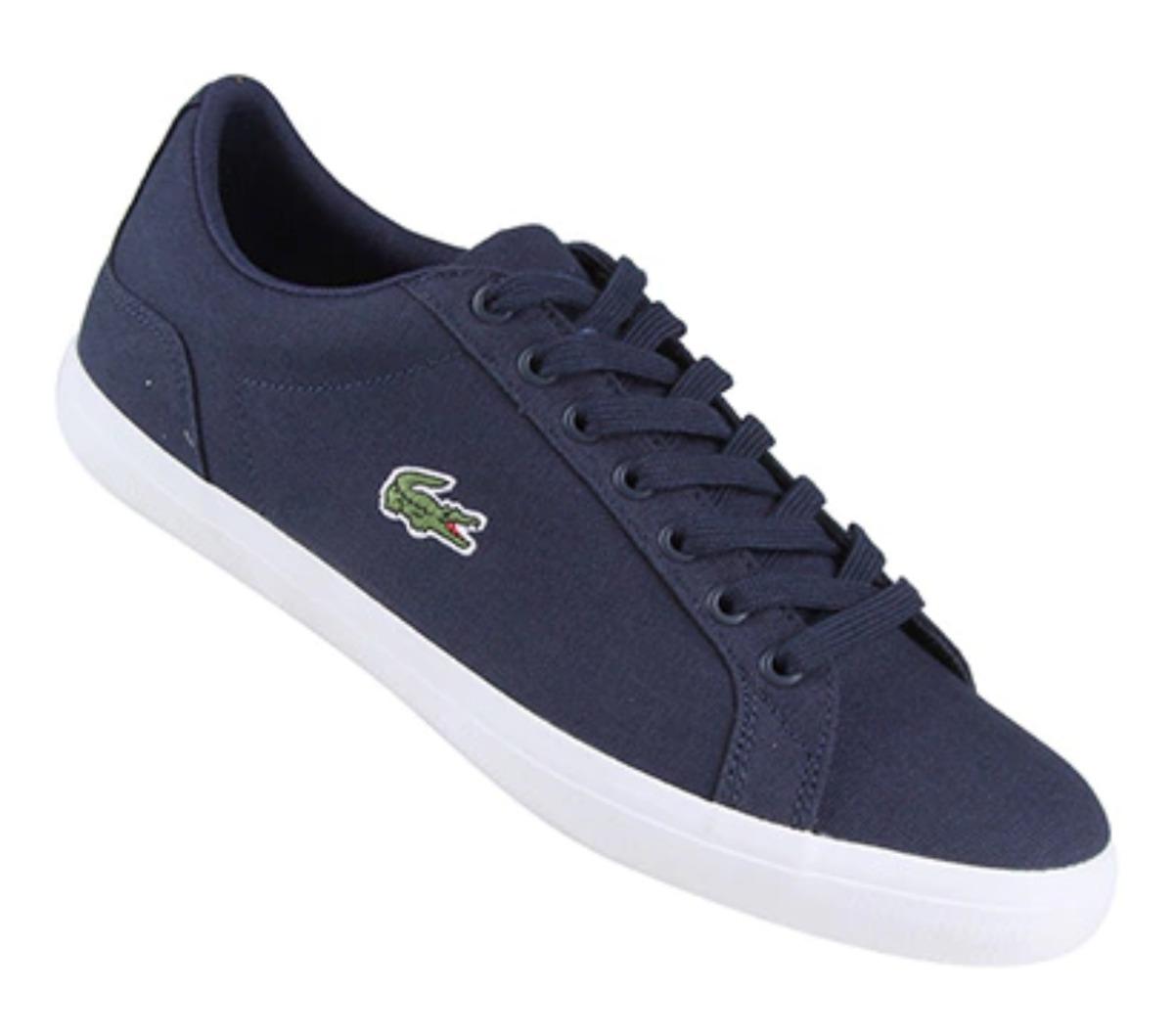 53505dbb498c2 Tenis lacoste lerond azul original masculino carregando zoom jpg 1200x1059 Tenis  masculino lacoste