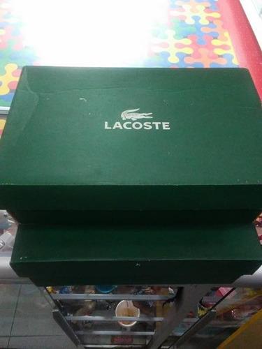 tenis lacoste talla 35 nuevos en su caja 100% originales