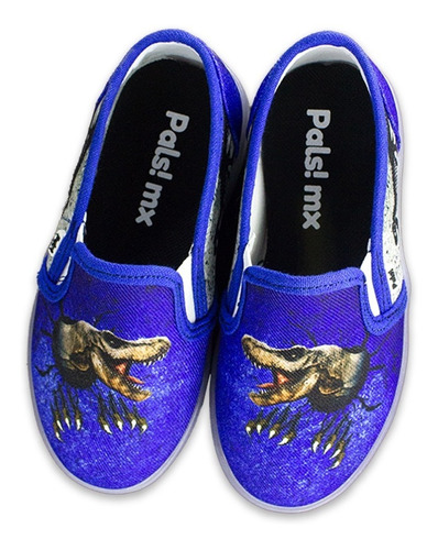 tenis led niño dinosaurio jurassic t rex, envío gratis