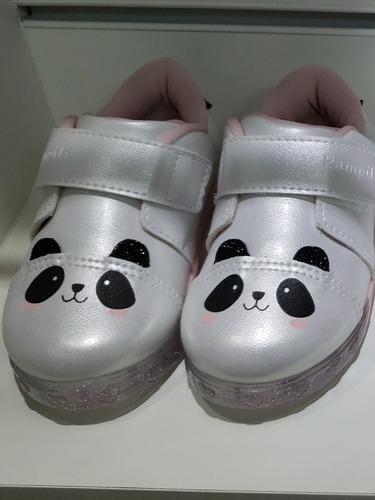 tenis led panda pampili