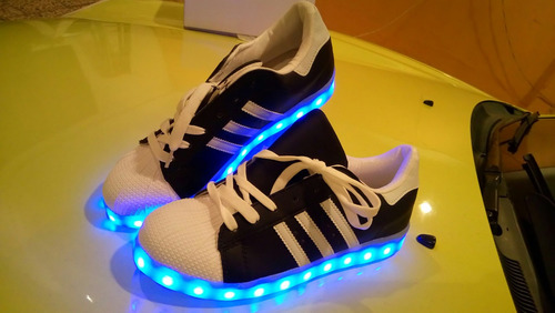 tenis led talla 40