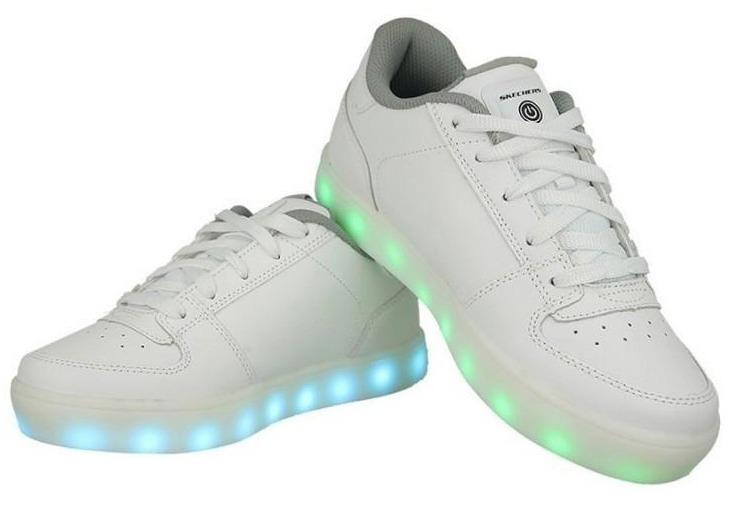 701757d0434 Tenis Luz Led Skechers Energy Light Talla 24 Cm -   1