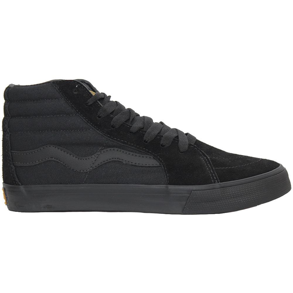 tenis mad rats skate old school hi top original preto black. Carregando  zoom. 77e8e6446ef