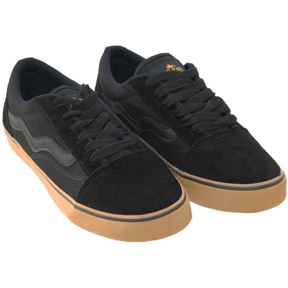 ea8597ae2f6 tenis mad rats skate old school original preto crepe. Carregando zoom.