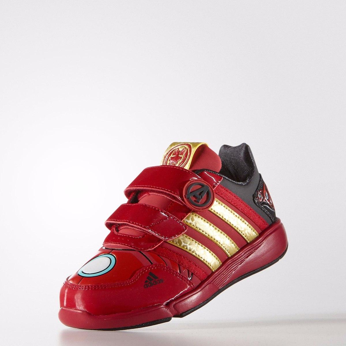 713cc0e4631 Tenis Marvel Avengers Iron Man Velcro Niño adidas B23896 -   499.00 ...