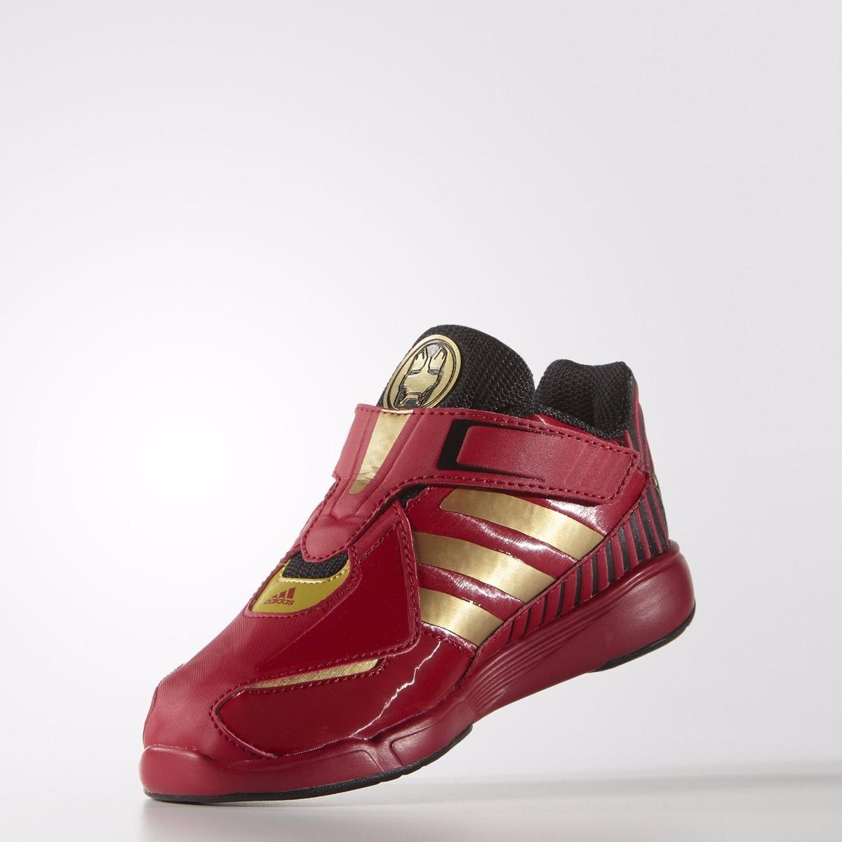 cf645db6e03 Tenis Marvel Disney Avengers Iron Man Niño adidas Af3988 -   649.00 ...