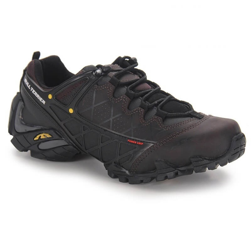 f199bf50fb Tenis Masculino Bull Terrier Extreme Low Couro Natural - R  284