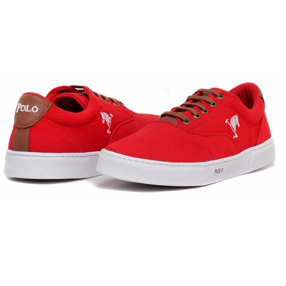 c2026f8d696 tenis masculino + chinelo - sapatenis sapato vermelho. Carregando zoom.