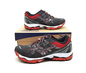 3e050385ae Mizuno Wave Nirvana 8 N 40 Raro Novo Na Caixa Running - Tênis Têxtil Preto  no Mercado Livre Brasil