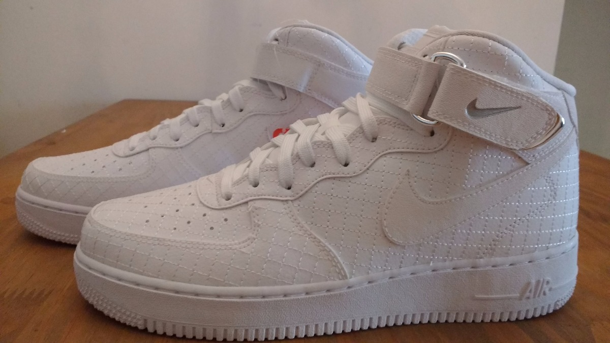 new arrival bf05f 5cfc9 Tenis Masculino Nike Air Force 1 Mid 7 Lv8 Branco