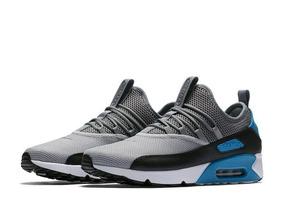e56849835 Tenis Nike Air Max   Gelo E Azul Royal. Mfs - Tênis para Masculino ...