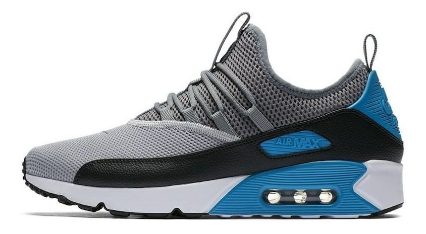 Tenis Masculino Nike Air Max 90 Ez Azul E Cinza + Brinde !