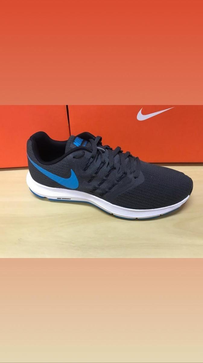 dd5e9aa631f3e tenis masculino nike run swift running corrida preto azul. Carregando zoom.